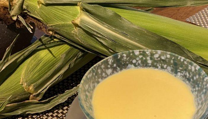 北海道江別産とうもろこしのスープ